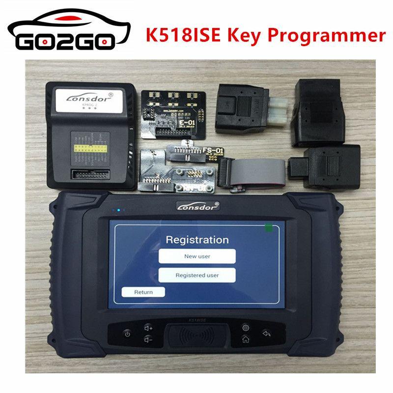 Promotion only 8 hours Lonsdor K518ISE Key Programmer with Odometer Adjustment