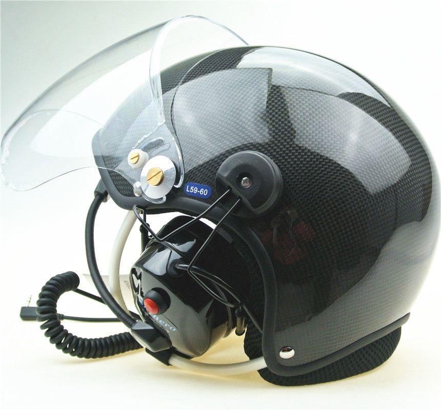 Реальная углеродного материала paramotor шлем с подавления шумов гарнитура напрямую с фабрики продажи Бесплатная доставка