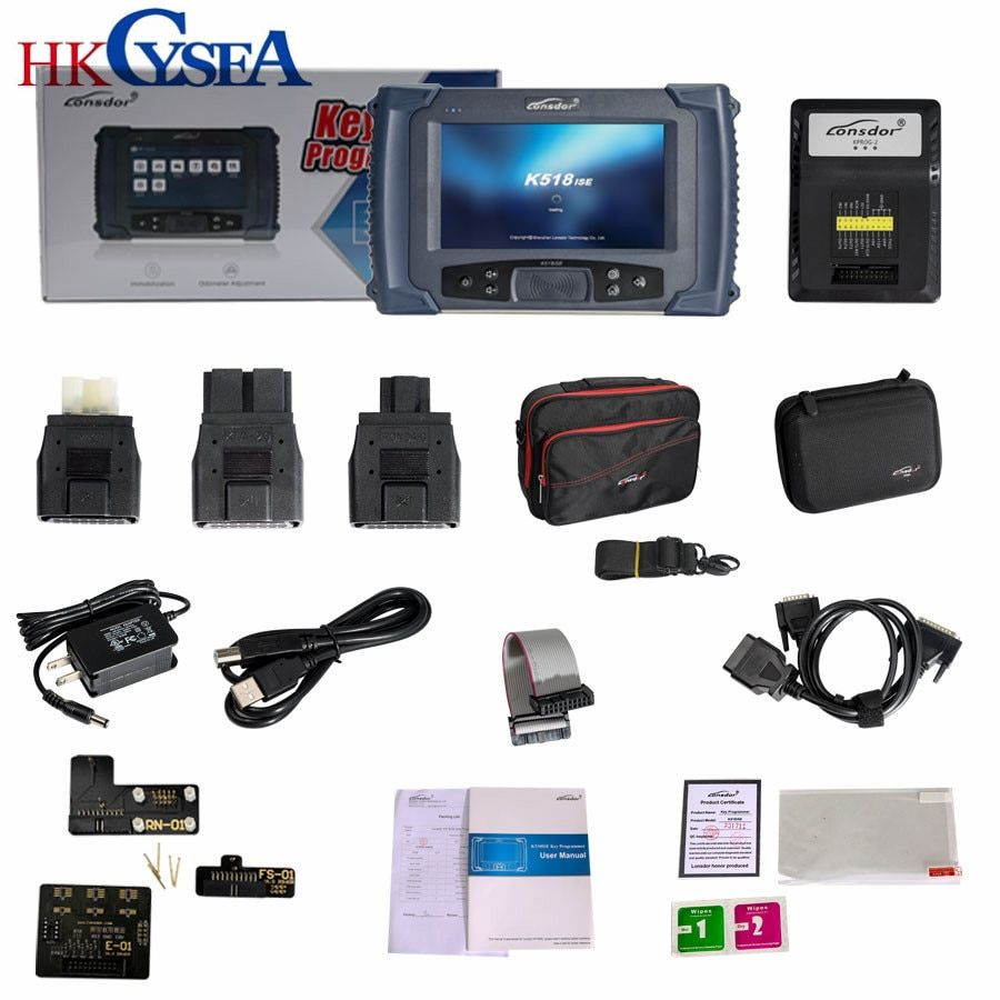 HKCYSEA Newest Lonsdor K518ISE Key Programmer with Odometer Adjustment Car Diagnostic-Tool For All Makes