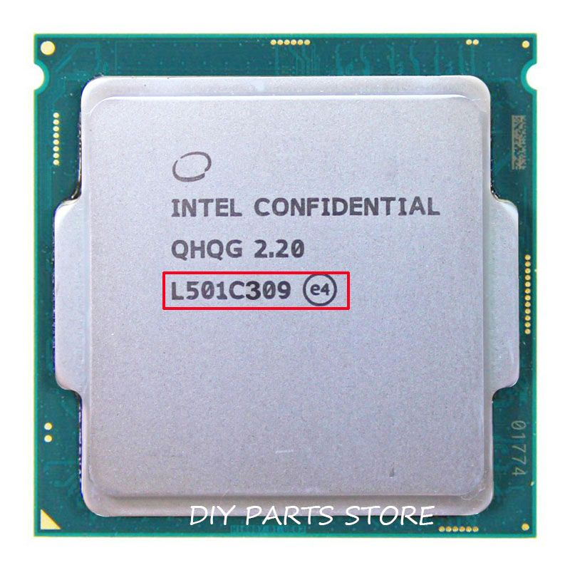 INTEL QHQG Engineering-version ES von I7 6400 T I7-6700K 6700 Karat prozessor CPU 2,2 GHz L501 Q0 schritt quad core quad-core socket 1151