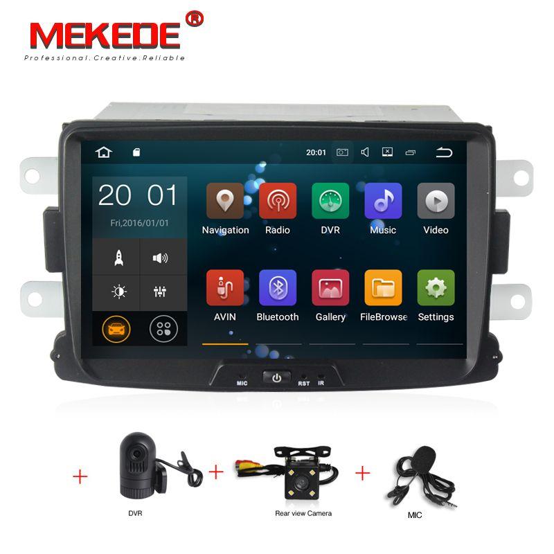 1024x600 PX3 Android 7.1 8 inch AUTO DVD GPS Für Dacia Sandero Duster Captur Lada Xray 2 Logan 2 radio stereo bildschirm PC