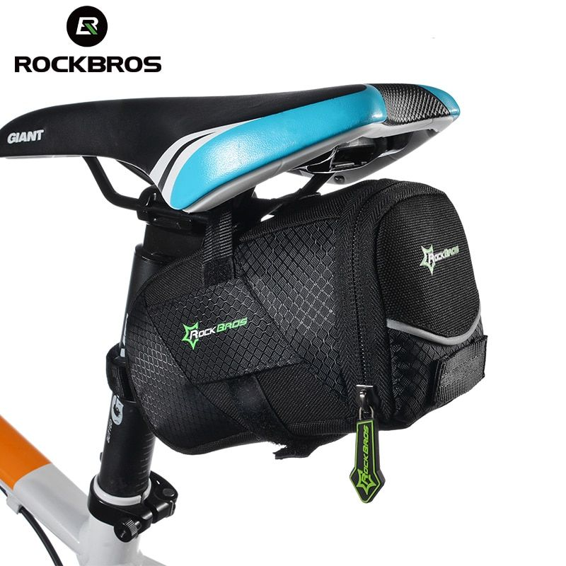ROCKBROS Bicycle Bike Rear Top Tube Bag Waterproof MTB Bike Bicycle Rear Saddle Bag Cycling Rear Seat <font><b>Tail</b></font> Bag Bike Accessories