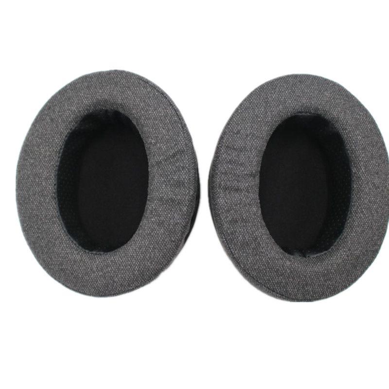 Coussinets d'oreilles en mousse coussins pour BRAINWAVZ HM5 pour beaucoup d'autres grands écouteurs sur l'oreille pour Philips SHP9500 pour Sony MDR V6 ZX 700