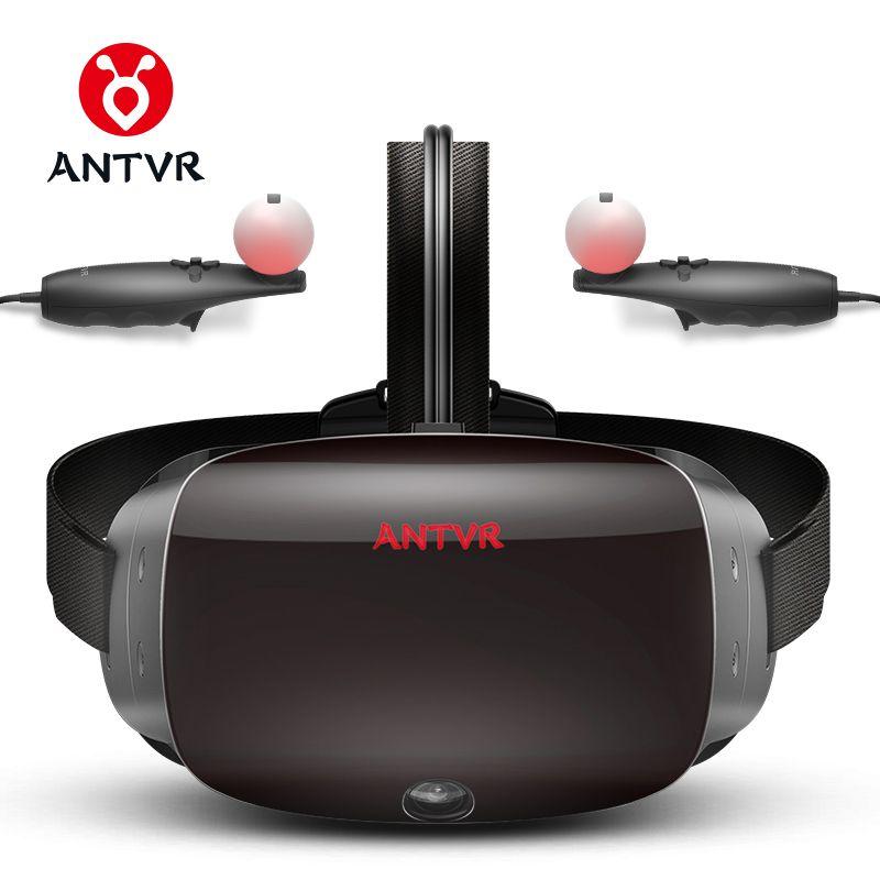 ANTVR 2018 Neue Virtuelle Realität Gläser VR PC Headset Dampf Spiel für PC Virtuelle pc Gläser Fernglas 110 FOV 2K VR box 3D VR 2T
