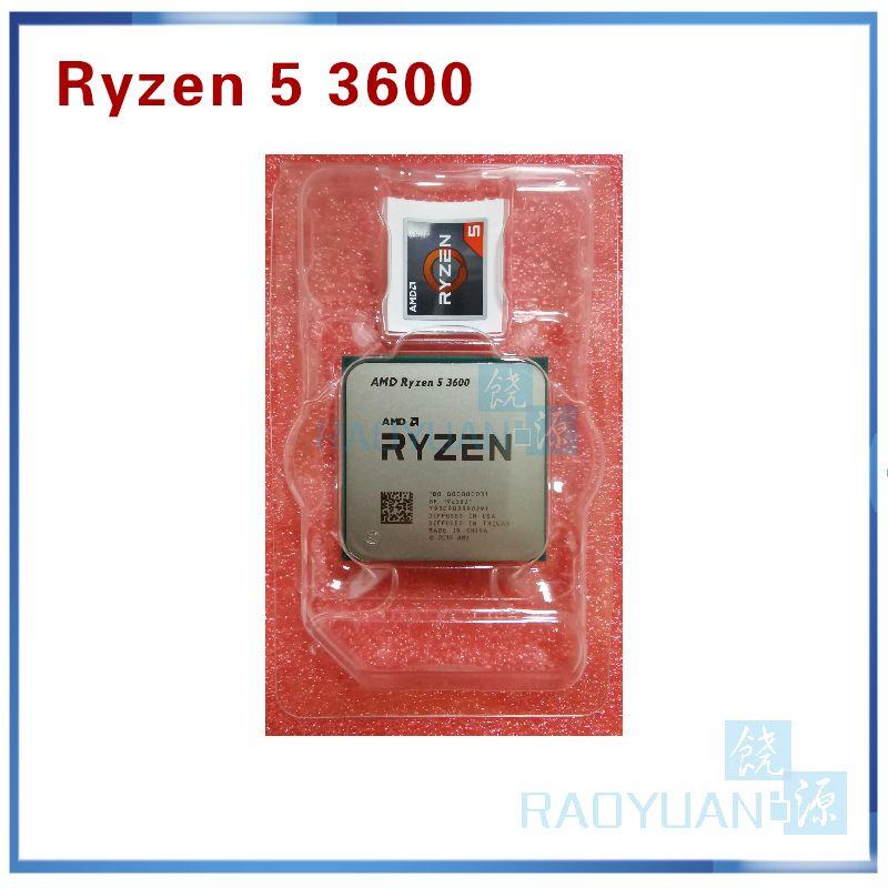 Neue AMD Ryzen 5 3600 R5 3600 3,6 GHz Sechs-Core Zwölf-Gewinde CPU Prozessor 7NM 65W l3 = 32M 100-000000031 Buchse AM4