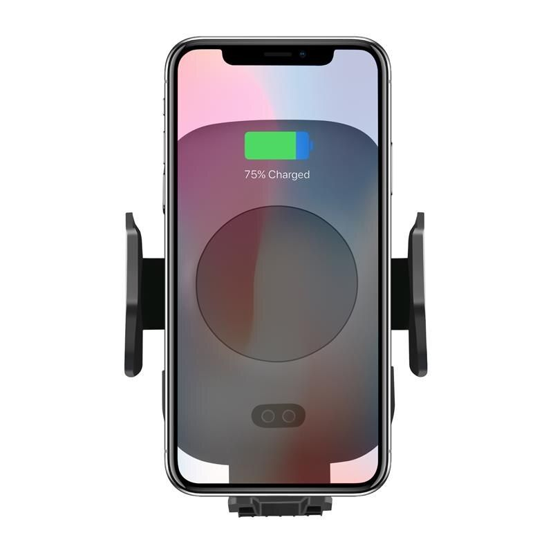 Fast Wireless Car Charger & Automatic Induction Car Mount Air Vent Phone Holder Cradle, for iPhone 8/ 8 Plus/ X Samsung S9 S8 S7