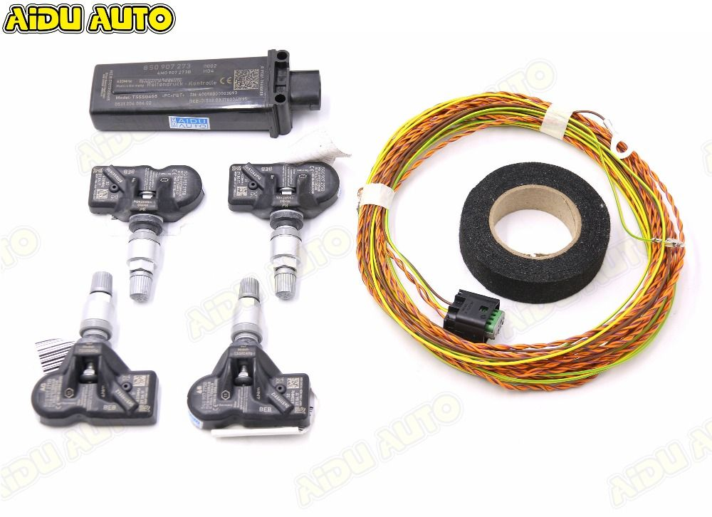 TMPS 2 TPMS Reifendruck System VERWENDEN FÜR Audi A4 B9 A5 B9 Q5 Q7 4 mt A3 8 v NEUE TT 8S0 907 273 4M0 907 273 B
