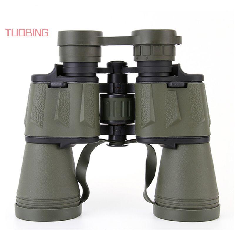 TUOBING 20X50 Portable Binoculars High-definition High Power Binoculares Professional <font><b>Telescope</b></font> Great Vision Fine Eyepiece