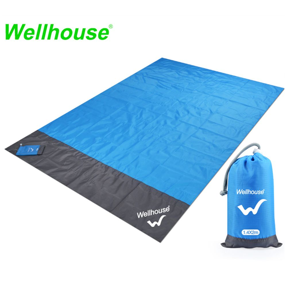 1.4*2m Camping Mat Waterproof Beach Blanket Outdoor Portable Picnic Ground Mat Mattress Outdoor Camping Picnic Mat blanket