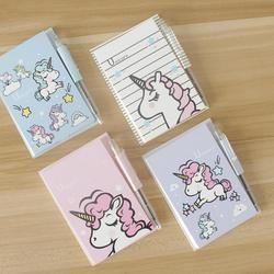 Unicornio con pluma Memo Pad N Times notas adhesivas Bloc de notas papelería regalo