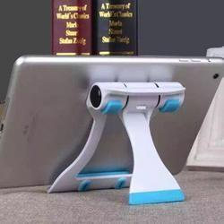 Universal Tablet PC Holder ángulo ajustable plegable escritorio teléfono soporte Flexible para Samsung iPad Tablet PC 13*10*2,5 cm