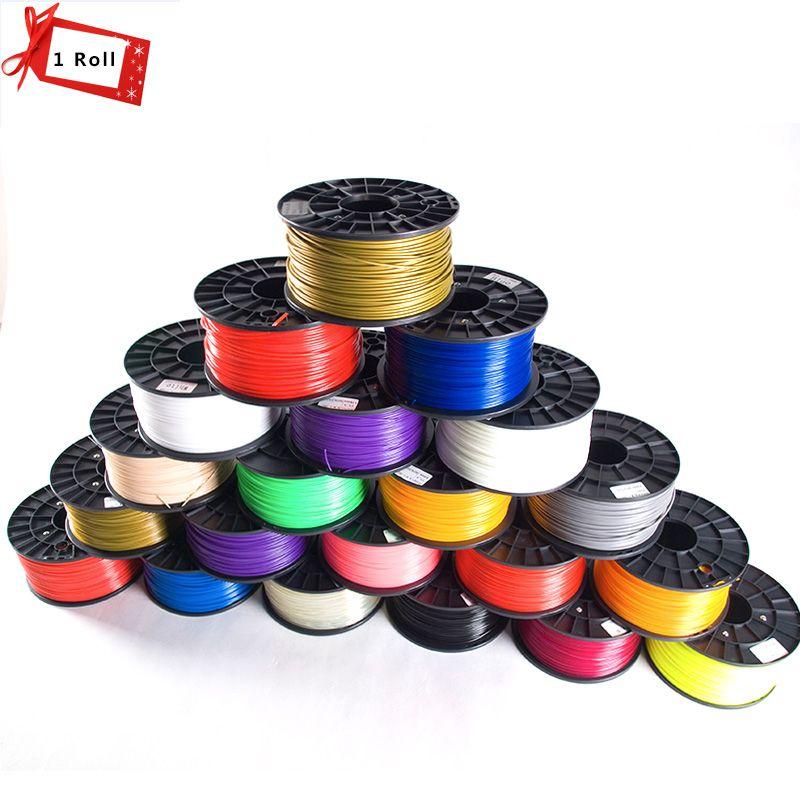 13 Color Option 3D Filament 1KG PLA/ABS/TPU 1.75mm Plastic Consumables Material MakerBot/RepRap 3D Printer Filament n 3D Pen