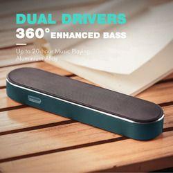 HAVIT 2000mAh 10W Bluetooth Speaker Stereo Super Bass Wireless Speaker AUX Portable Sound Box for iPhone Smartphone Tablet M20