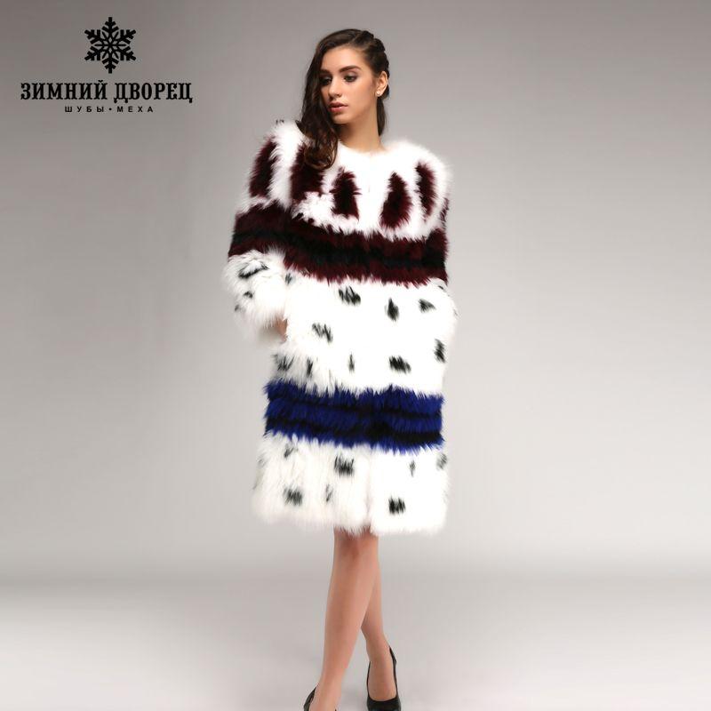 2016-2017 fashion hit the color long of fox fur coat fox white popular style fur coats for women star style fox fur winter coat