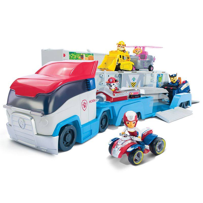 Paw Patrol dog Mobile rescue big bus puppy patrol paw patrol deformation children's toy racing Ryder Kids Toy Gift