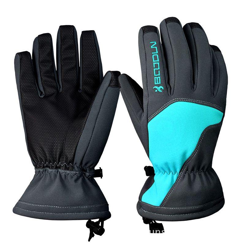 Schnee Kopf Ski Handschuhe Wasserdicht-30C Grad Winter Warme Snowboardhandschuhe Männer Frauen Motocross Winddicht Radfahren Motorrad Handschuhe