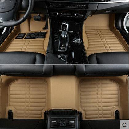 Hohe qualität! Custom special auto fußmatten für Cadillac CT6 2019 dauerhaft wasserdicht auto teppiche für CT6 2018-2016, freies verschiffen