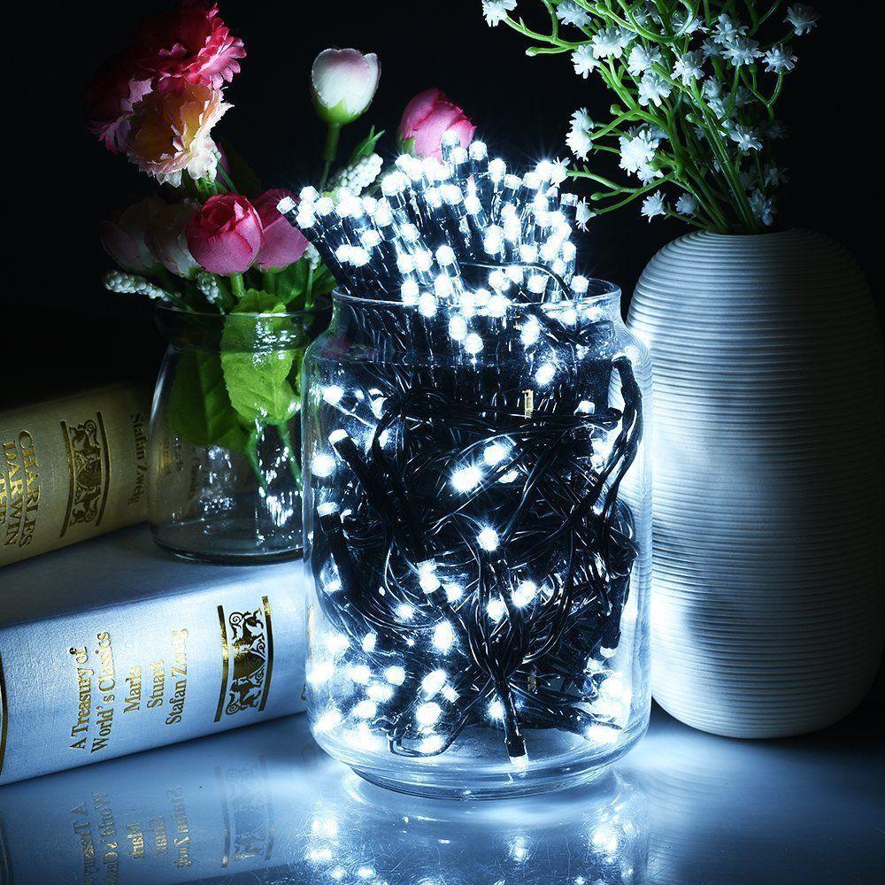 OSIDEN Solaire Cordes Lumière Lampe 8 m 12 m 22 m LED ChristmasLights 6 v Corde Féerique de Lumières Led En Plein Air éclairage ForGarden Lumière Bande