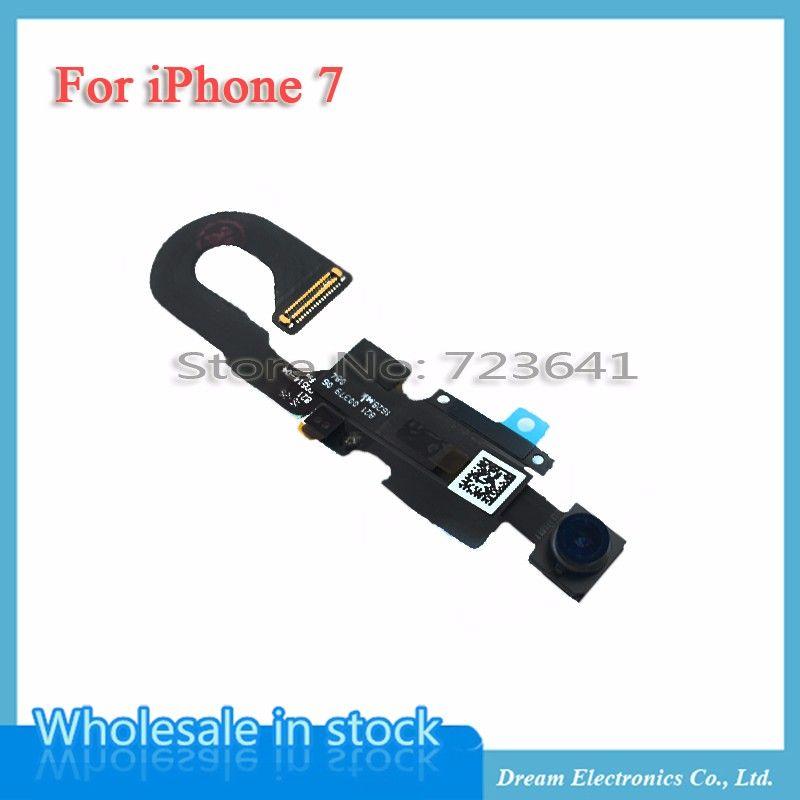 MXHOBIC 1 pcs Petite Caméra Avant pour iPhone 7 4.7 ''Capteur lumière de Proximité Flex Câble Face Cam pour iphone 7 Plus remplacement