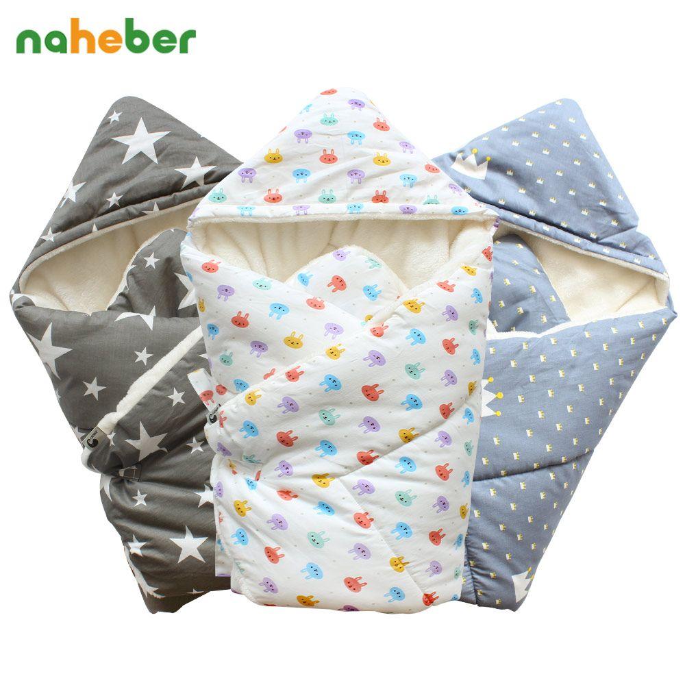 Bébé Swaddle 90*90 cm Couverture de Bébé Chaud Épais Berbère Polaire Enveloppes Pour Les Nouveau-nés Infantile Wrap Bébé Literie Sommeil