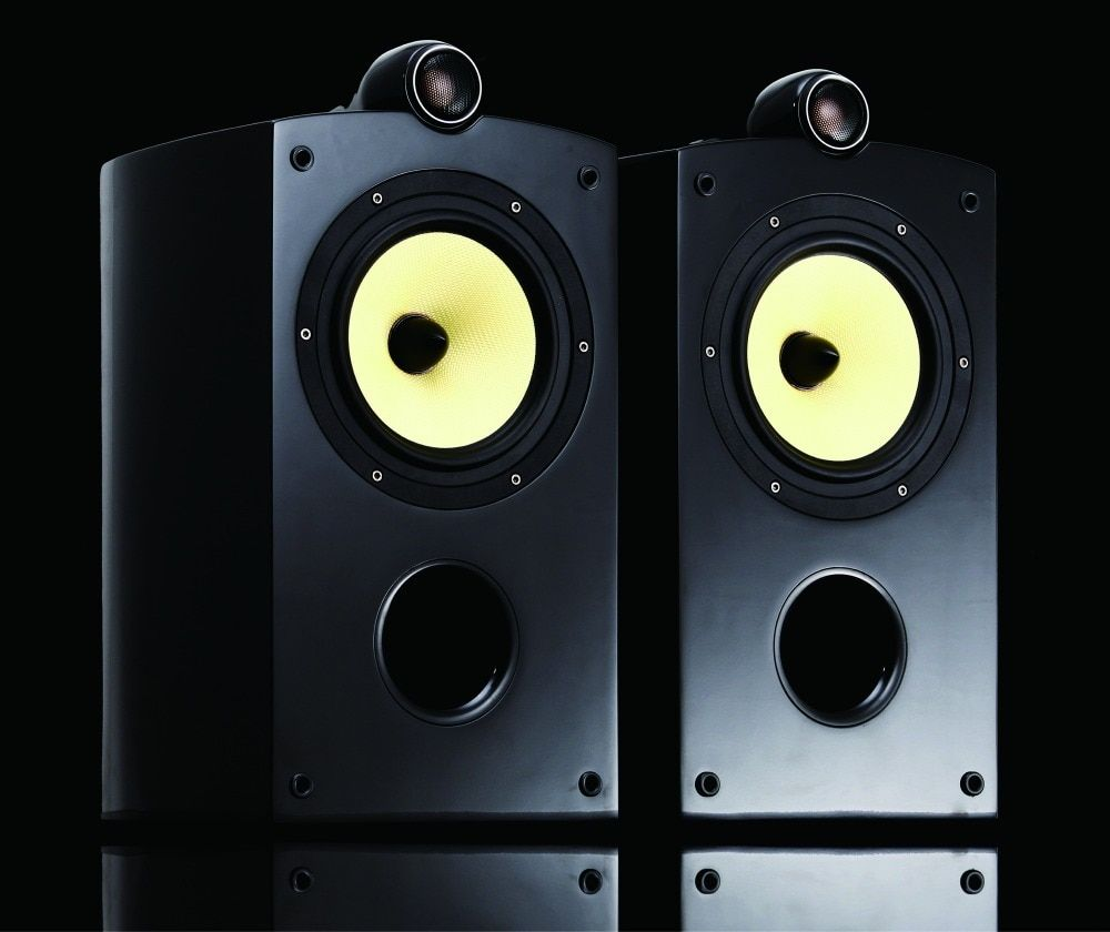 Mistral BOW-A4 6 Ohms 80W x 2 Hifi Bookshelf Speaker (Pair)
