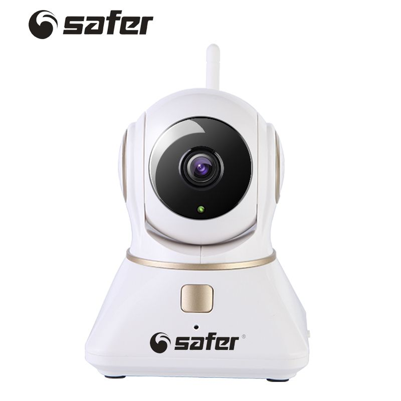 SAFER New Wireless IP Camera Wifi 720P Hd Cctv Camera Home P2P Security Surveillance Two-Way Audio Support SD Card Baby Monitor