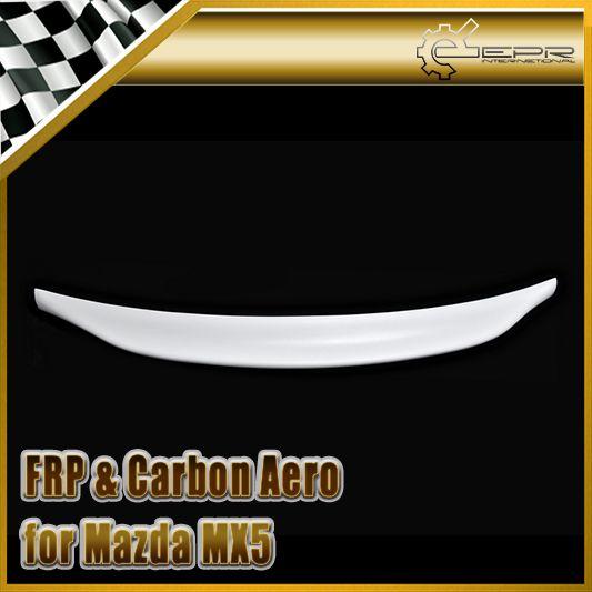 Car-styling For Mazda MX5 NA MK1 Miata FRP Fiber Glass Type 2 Rear Ducktail Spoiler Trunk Wing