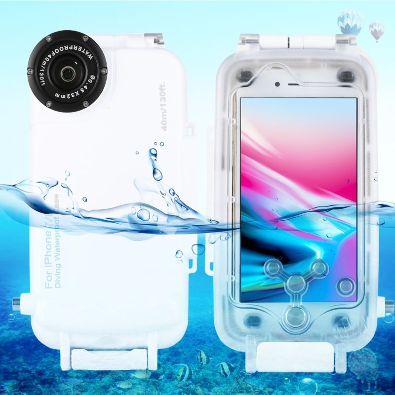 For iPhone 7 case waterproof 40m/130ft Underwater Camera Housing Photo Taking Waterproof Diving Case for iPhone 7 funda Coque