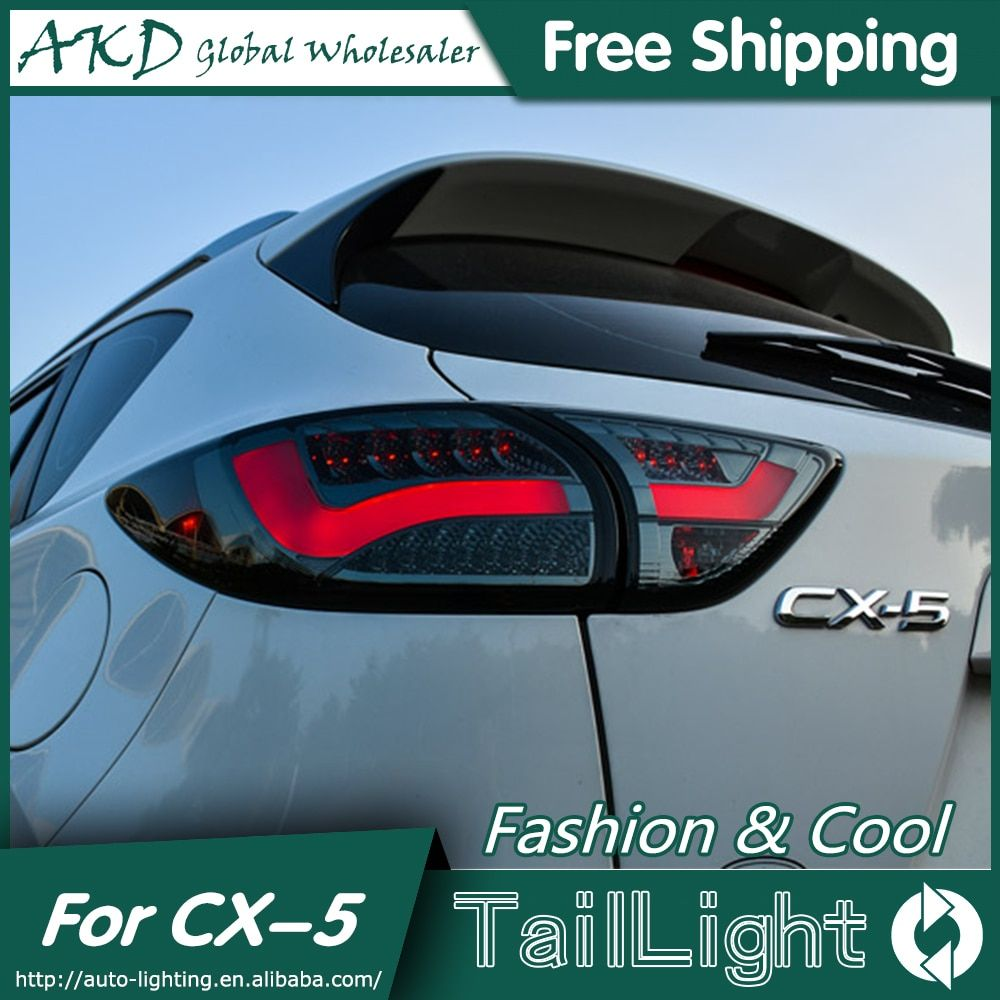 One-Stop Shopping Styling for Mazda CX-5 Tail Lights Taiwan Sonar Mazda CX-5 LED Tail Light Rear Lamp DRL+Brake+Park+Signal