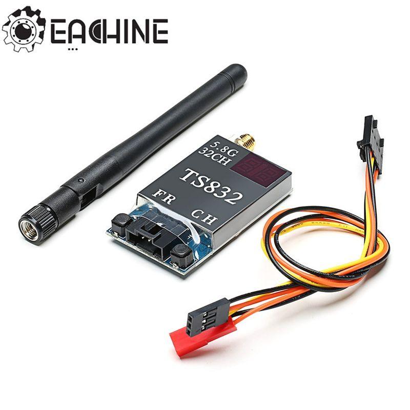 Eachine TS832 Boscam FPV 5.8G 32CH 600 mW 7.4-16 V Sans Fil AV émetteur FPV Multirotor Partie