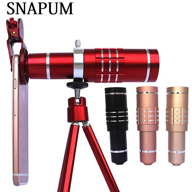 SNAPUM mobile téléphone 18x télescope Caméra Zoom optique Téléphone Portable téléobjectif Pour iphone samsung Huawei oppo vivo xiaomi
