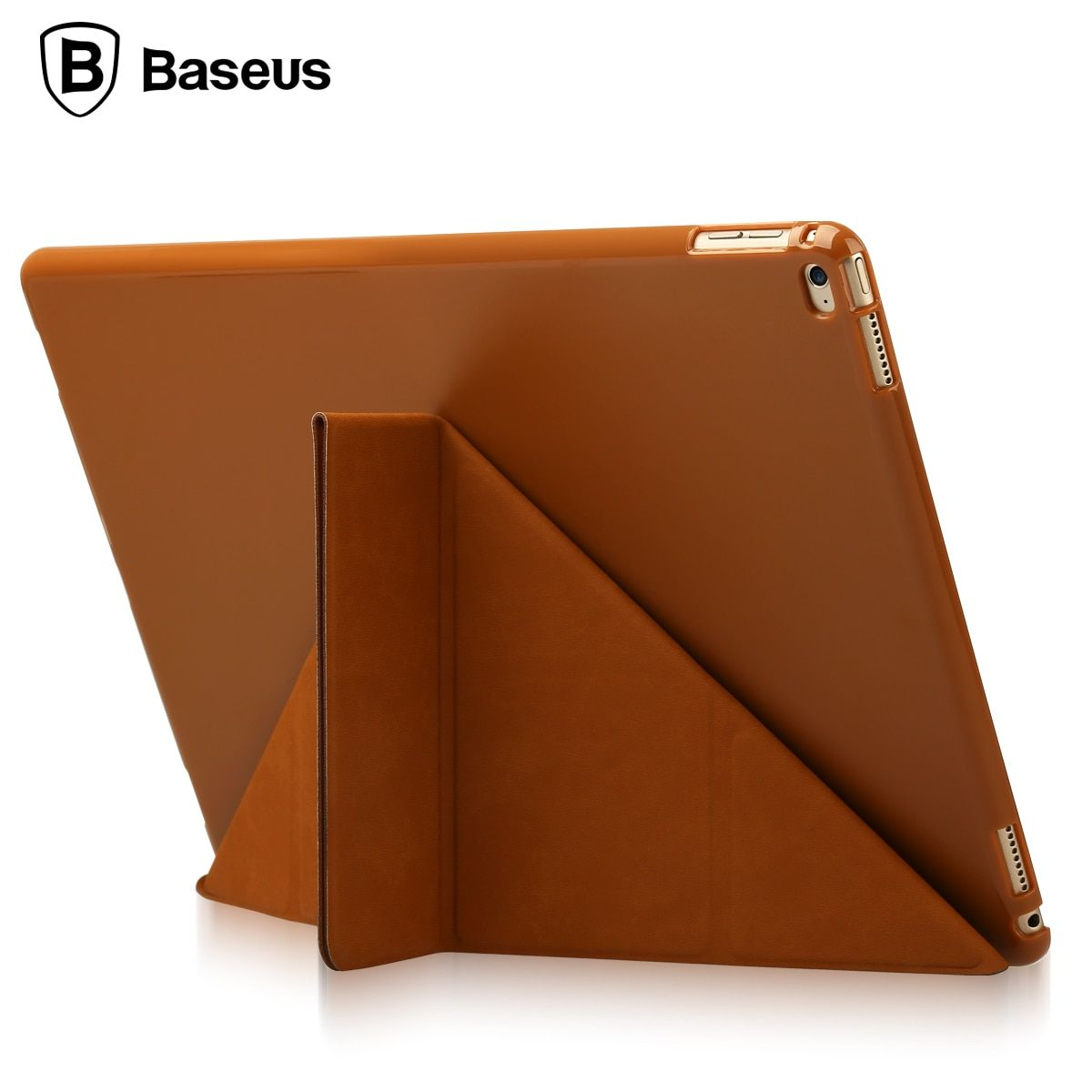 Baseus For iPad Pro 12.9 inch Case Magnetic Slim Foldable Full Body Leather Cover Case With Stand Holder For Apple iPad Pro 12.9