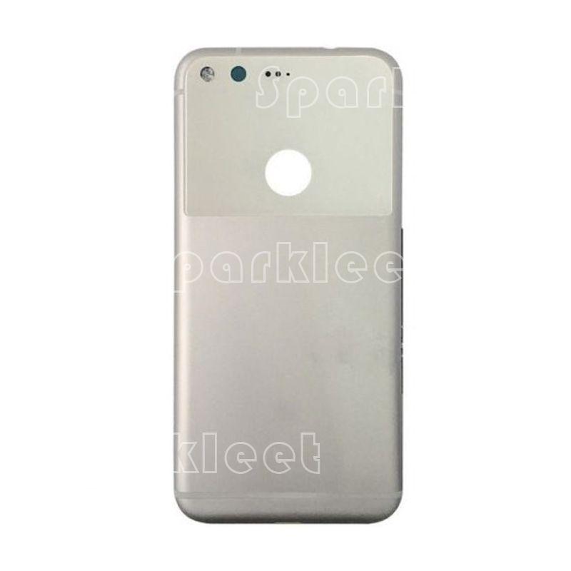 New Metal Aluminum Mobile Phone Battery Cover Rear Housing Case Replacement Parts for HTC Google Pixel Google Pixel XL BK&silver