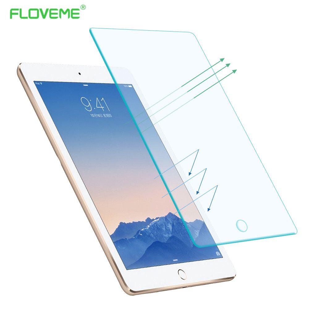 FLOVEME Für iPad Pro 9,7/12,9 Displayschutz Anlassen Glas Fällen HD Tough Front Für iPad Pro 9,7 ''12,9'' Luxus Abdeckung Shell