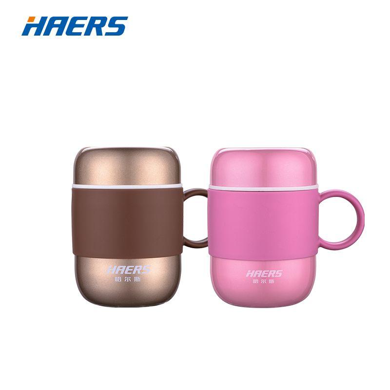 Tasse de fiole à vide d'acier inoxydable de Thermos de couleur de sucrerie de Haers 280 ML pour la LBG-280-11 de dame et de messieurs de bureau