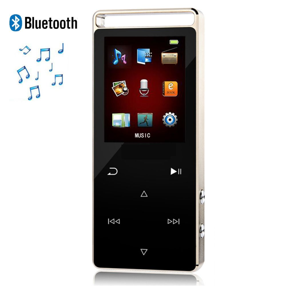 Original Touch Screen MP4 Player Bluetooth 8GB Digital Sound high Quality and Pedo Meter Video Audio Player Music Player