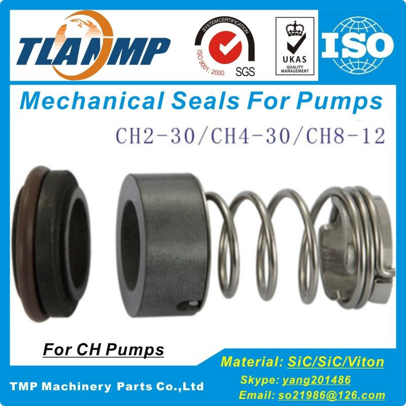 CH Type Mechanical Seal with Shaft Size 12mm For CH2-30/CH4-30/CH8-12 CR2/4 SPK2/4 Air conditioning pumps