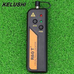 KELUSHI 10 MW fibra óptica localizador Visual para 2,5mm conector Mini RGT láser rojo probador para FTTH