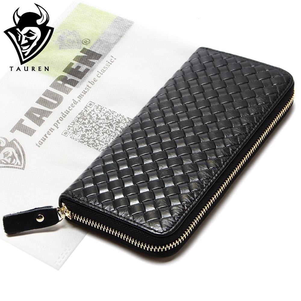 Mode Größere Kapazität 100% Reale Echtes Schwarz herren Vintage Brieftaschen