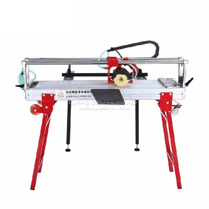 Multifunctional electric table type dust free cutting machine for cut stone wood ceramic tile