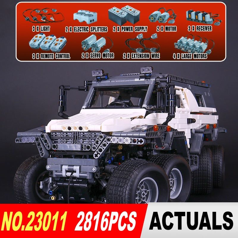 NEW LEPIN 23011 Technic series 2816Pcs Off-road vehicle Model Building Blocks Bricks kits Compatible 5360 to children gifts