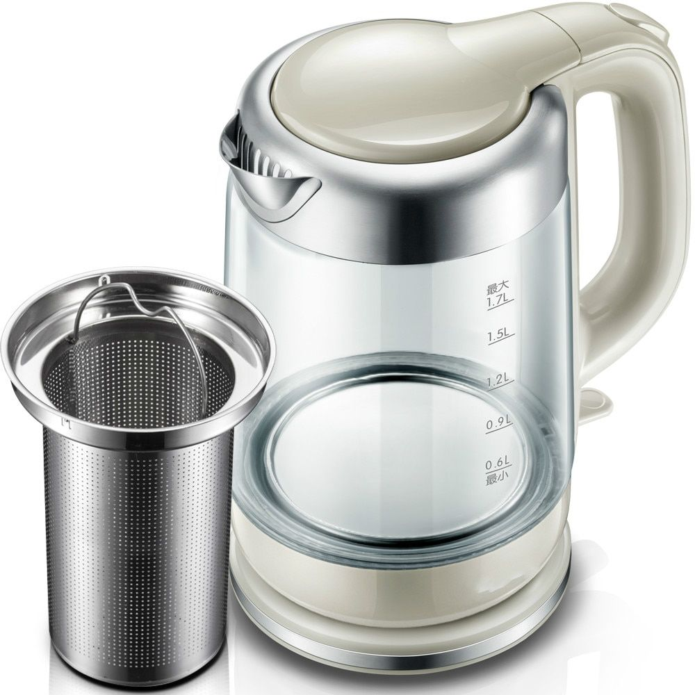 Electric kettle of home electric automatic power cut glass kettle