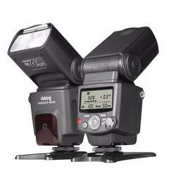 Voking VK430 I-TTL pantalla LCD Blitz speedlite flash para Nikon D5500 D3300 D7200 D3400 D5300 D500 D7500 D750 D5600 y otros DS
