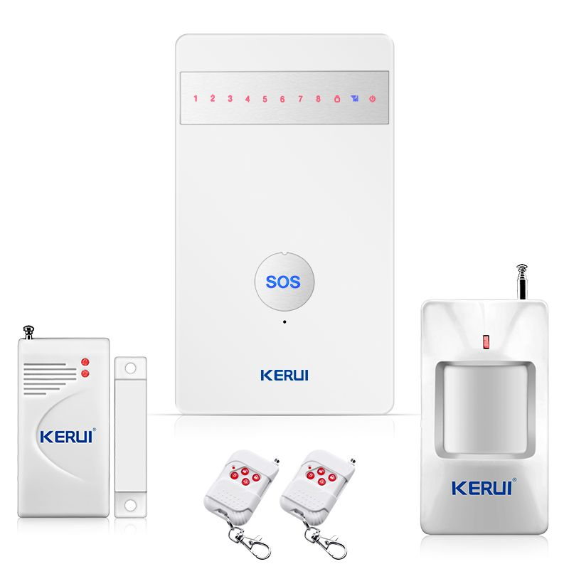 KERUI G25 french language Wireless GSM Alarm Systems Security Prptectiom Home alarm Burglar Android/iPhone APP Controlled