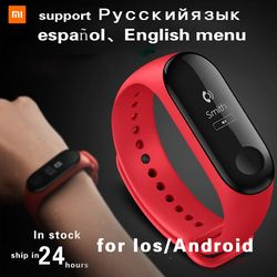 Xiao mi Группа 3 Fit ЗАМЕНА Smart mi Группа 2 Touchpad Экран монитор сердечного ритма шагомер браслет IP67 FitnessTracker mi band 3 xiaomi mi band 3 mi band 2 фитнес браслет miband 3 ...