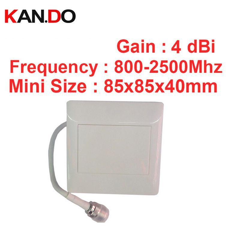 4dbi 800-2500 Mhz intérieur extérieur Panneau antenne gsm 3G radio antenne LTE 4G antenne panneau mini taille pour FDD TDD 3G 4G