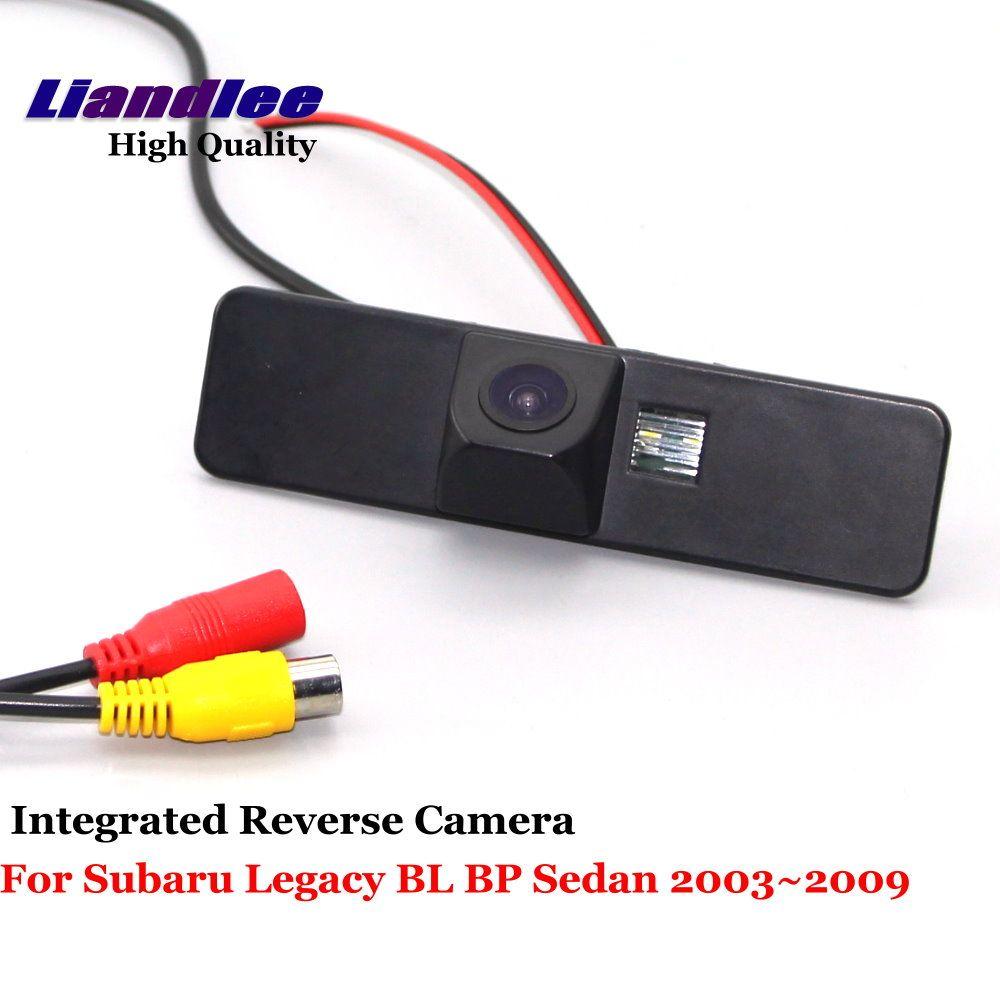 Liandlee For Subaru Legacy BL BP Sedan 2003~2009 Car Reverse Camera Rear View Backup Parking Camera / Integrated High Quality