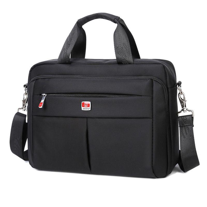 Casual männer Umhängetasche Hohe Qualität Wasserdicht Umhängetaschen für Männer Solide Business Nachricht Tasche Mochila Männliche Laptop-taschen
