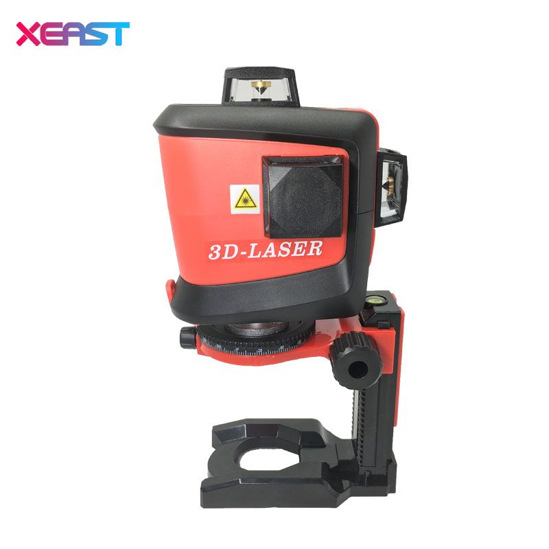 Fukuda 12 lines MW-93T lithium battery green laser level 360 Vertical And Horizontal Self-leveling Cross Line 3D Laser Level
