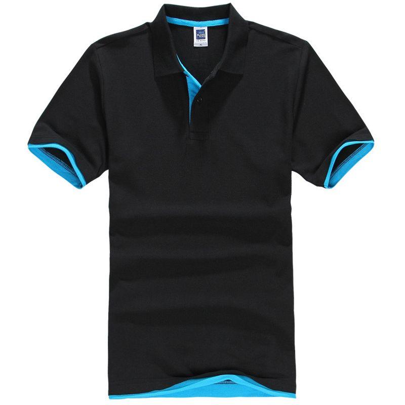 Grande taille XS-3XL tout nouveau Polo pour hommes hommes coton à manches courtes chemise marques maillots hommes chemises polos